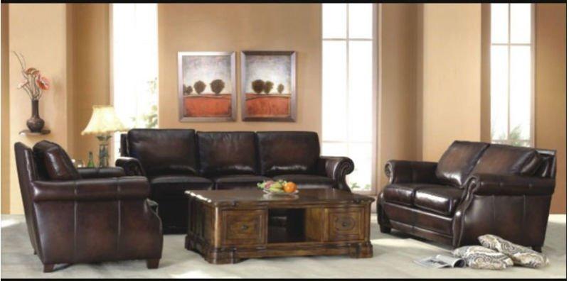 antichi in stile americano mobili soggiorno divano in pelle set ...