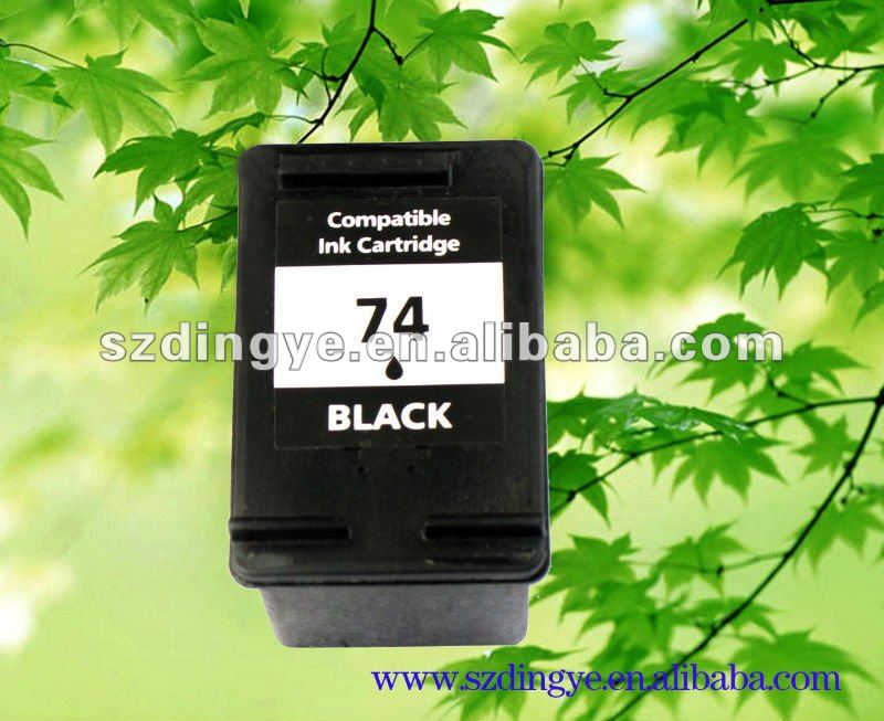 ink cartridge for hp-74 74XL7575XL compatible ink cartridge with chip reset