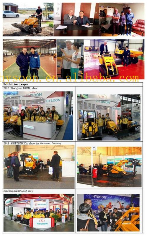 HY200 Wheel loader in global