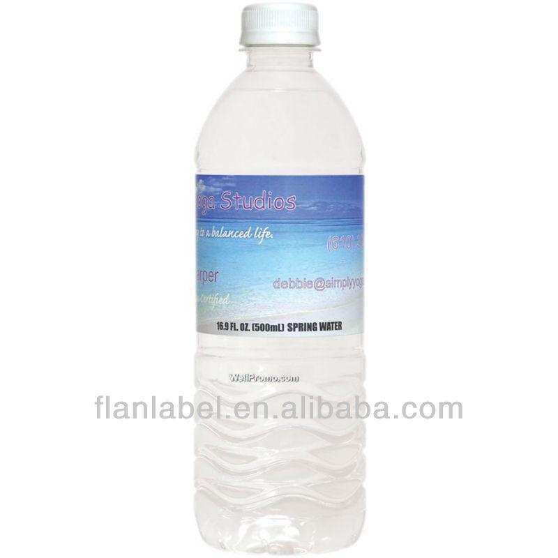 Mineral Water Bottle Logo Mineral Water Bottle Printing