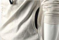 Мужская толстовка Men's Fashion Zipper Hooded Slim Long Sleeve Jacket, Men Outerwear, Men Coat, Hot Sale