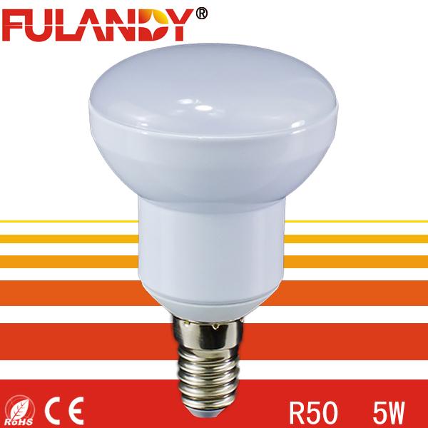 Cost effective 5W r50 led bulb light e14