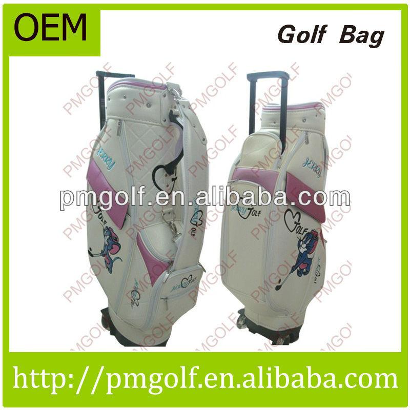 2013 Shenzhen Wholesale Unique Golf Bags with Wheels