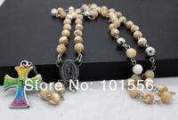 Колье-цепь Rosary shell rn551032