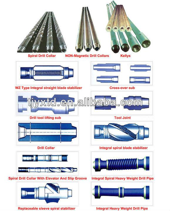 Classe s135 tubos de perfuração, tubo de haste de broca para venda, tubo de perfuração de petróleo
