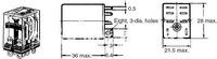 Реле , LY2NJ AC 220 10 , 8 LED : LY2N-J
