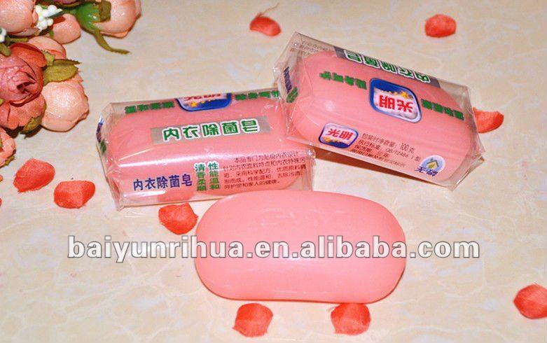 Natural mild solid underwear soap
