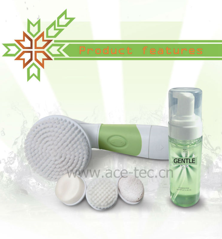 2014 newest Beauty Device For Face Massage and Electric Bath Brush