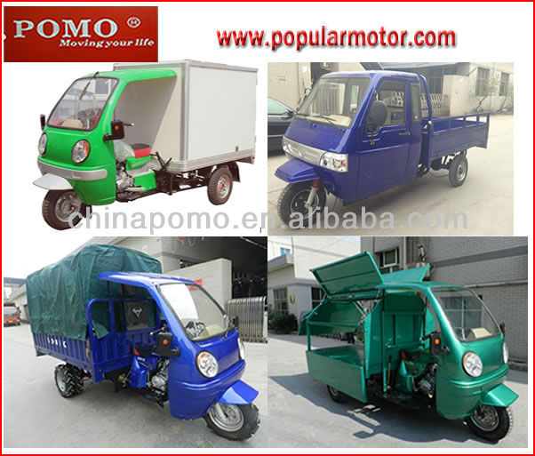 2013 Hot New Big Power Popular Cargo 3 Wheel 300cc Tricycle Truck