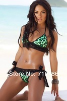 Женское платье ML37002 Top Grade Green Halter Bikini Cover Swimsuit Beach Towel Bikini