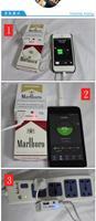 Зарядное устройство mobile power charging Rubine Marlboro factory direct universal mobile power