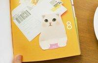 jetoy cat стиль липкие memo pad липкие ноутбука МЕМО палки 8 сортов