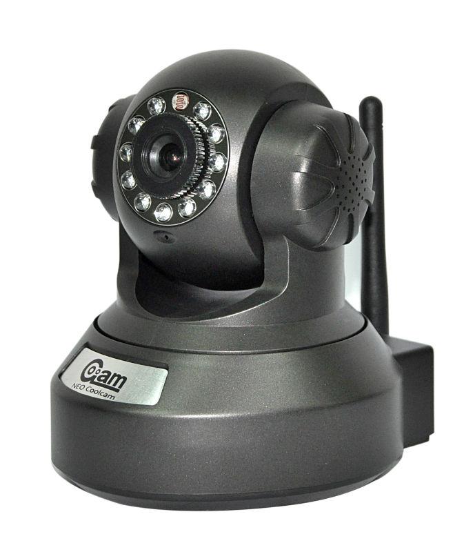 Indoor H. 264 720p Megapixel Wireless P2p IP Camera