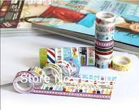 Канцелярская клейкая лента cartoon tape /DIY tape /decoration tape 500pcs/lot