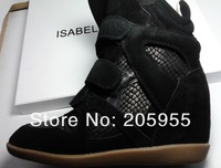 Женские кеды Latest Style Black Serpentine Isabel Marant Bekket Sneaker Shoes Boots Genuine Leather Hot sale