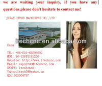 High quality/precision cnc router engraving machine china