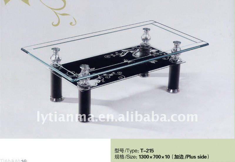 Glass Living Room Table – Modern House