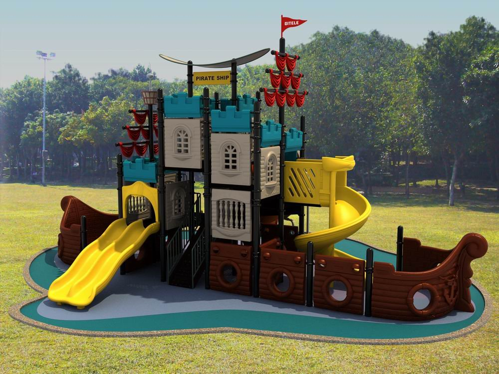 Pirate Ship Outdoor Playset Plans