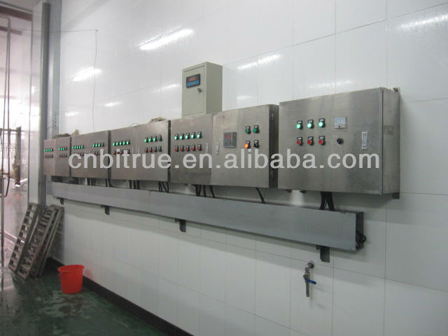 complete chicken poultry processing plant