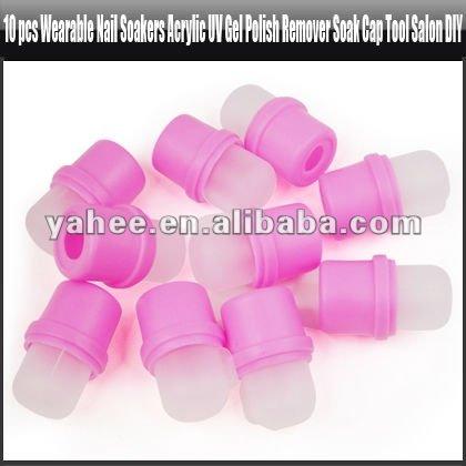 Nail soakers for false nail removal nail art tool nail for Acrylic nail removal salon