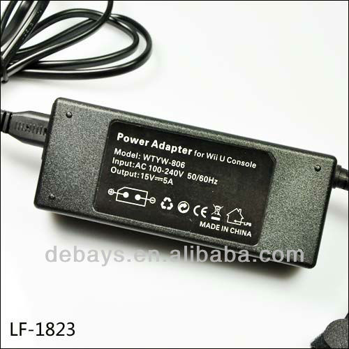 AC-DC adapter for Nintendo Wii U 110v-220v