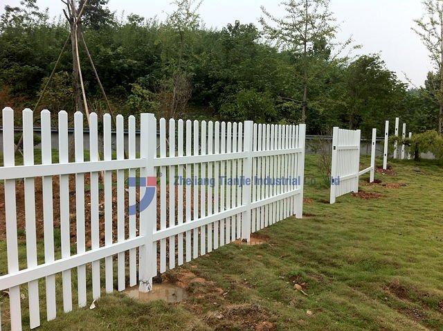 cerca para jardim alta : cerca para jardim alta:Jardim PVC branco cerca Slats-Cercas, treliças e portões-ID do