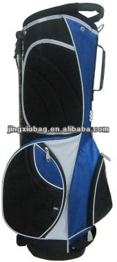 blue golf bag travel cover,golf bag parts
