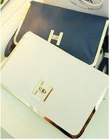 H buckle Bag , Fashion women handbags , Ladies' day  clutch bag , Restores envelope bag , Free shipping