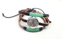 Наручные часы holiday sale top quality Weaven Genuine Cow leather watch women Wrap wrist watch KOW014