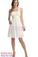 Custom Made Top Quality Wide Straps Sashes Zipper Up Ruffles Pleated Bodice Sleeveless Chiffon A Line Graduation Dress