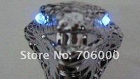 Ручка переключения передач для авто NEW AUTO Blue / Red LED light Snake Transmission Gear Knob / Shift Knob Shifter Silver