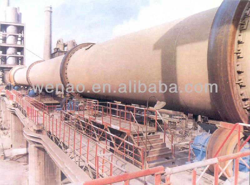 Rotary kiln for sintering cement clinker/Rotary kiln for metallurgical industries/Rotary kiln incinerator/Rotary kiln burner