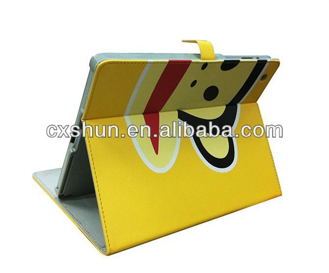 Best-selling cute cute cartoon leather case for ipad mini