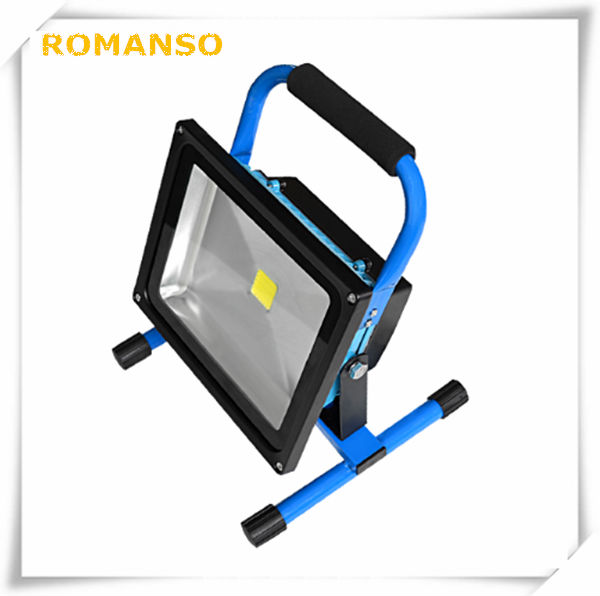 Shenzhen newly design portable rechargeable led flood for Luminaire exterieur rechargeable