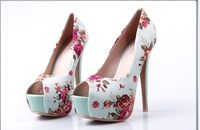 Туфли на высоком каблуке 2011 New fashion high heels Sexy shoes women's high heel CC135