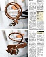 Кожаные браслеты Красота ювелирных изделий B-018