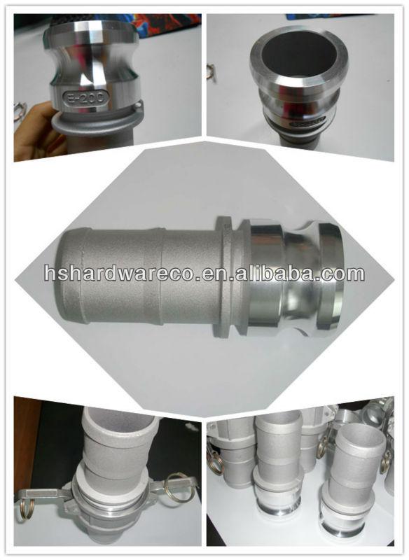 Aluminum Flat face hydraulic quick couplings