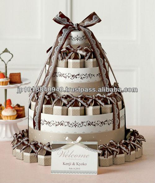 مجموعة برج كعكة الزفاف الطرف الديكور