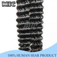 Волнистая прядь волос brazilian hair 1 Piece weave deep wave 100g queen brazilian hair top quality big discount virgin Brazilian hair