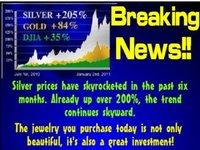 Серебро Браслеты  yh39684