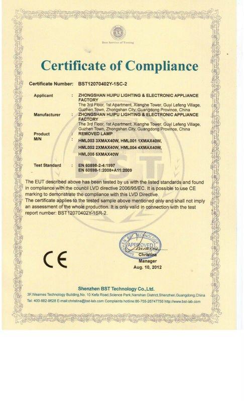 T-072045/1 Classic designsingle glass table lights in Guzhen China