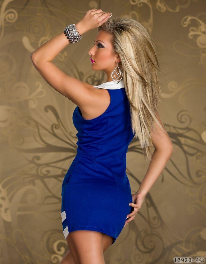 Бело Синее Платье С Доставкой