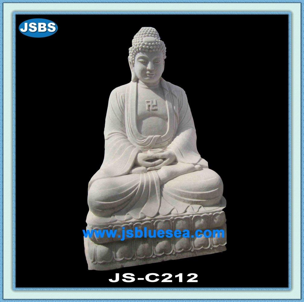 White Gautama Buddha Statue White Gautam Buddha Statue