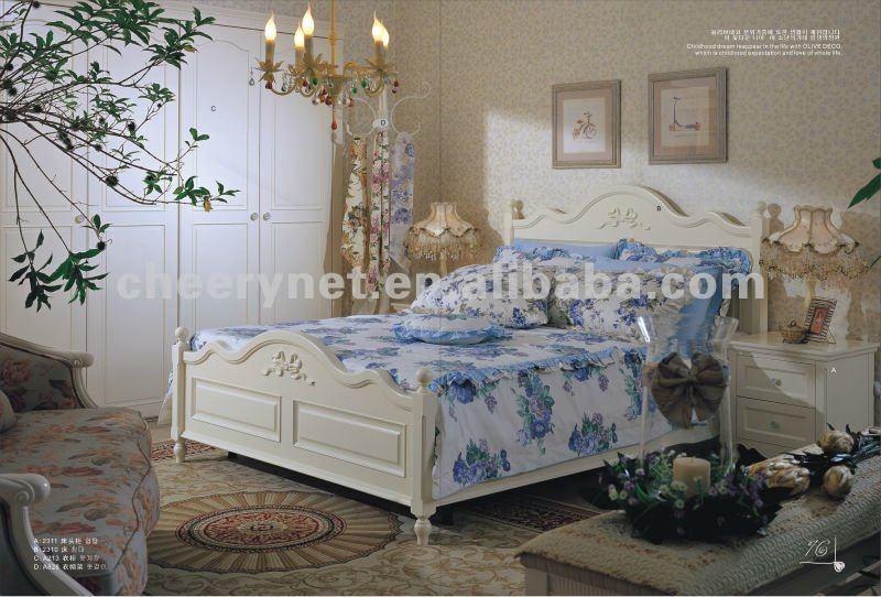 Chambre a coucher romantique dcoration chambre fille for Ensemble chambre a coucher adulte