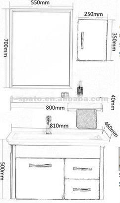 Modern Shabby Chic Bathroom Vanities JS-SS802
