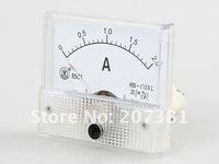 Измеритель величины тока New Analog AMP Panel Meter Gauge DC 0~2A 85C1