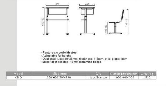 size of school desk buy used school furniture cheap school furniture