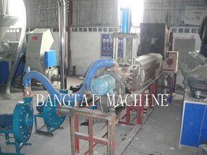 PE Wind Cooling  Hot Cutting Plastic Film Recycling Machine