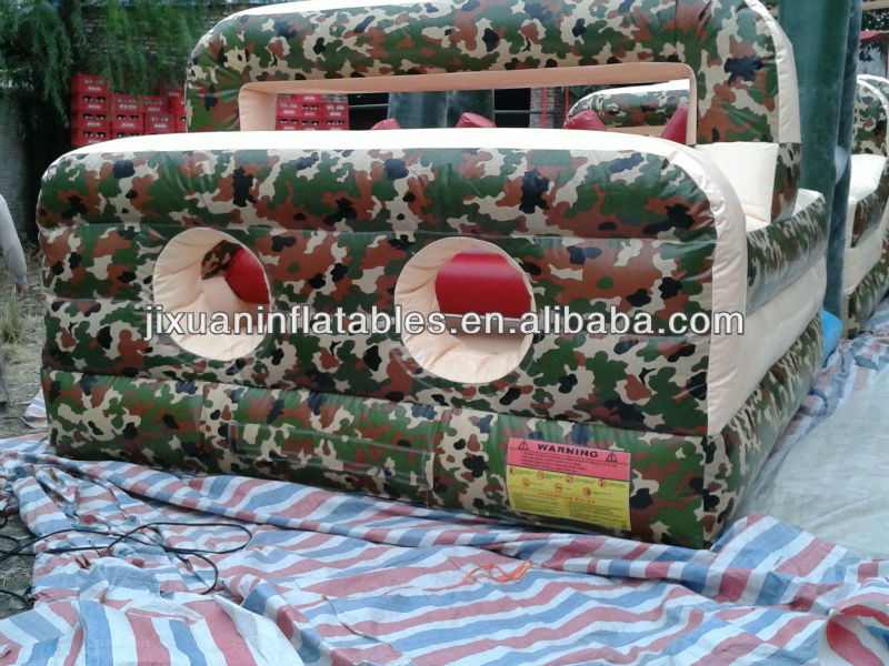 Boot Camp Inflatable Obstacle Course game