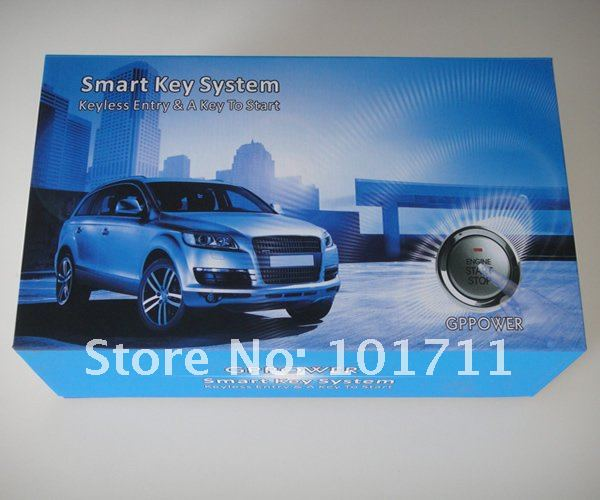 Wholesale Price  Convenient push button start system KIT  Free Shipping